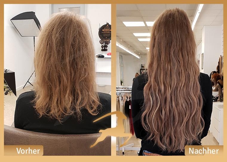heiß-verkaufender Fachmann Farben und auffällig 2019 am besten Haarverlängerung mit Microring-Tressen